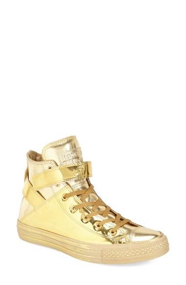 Converse Gold Metallic