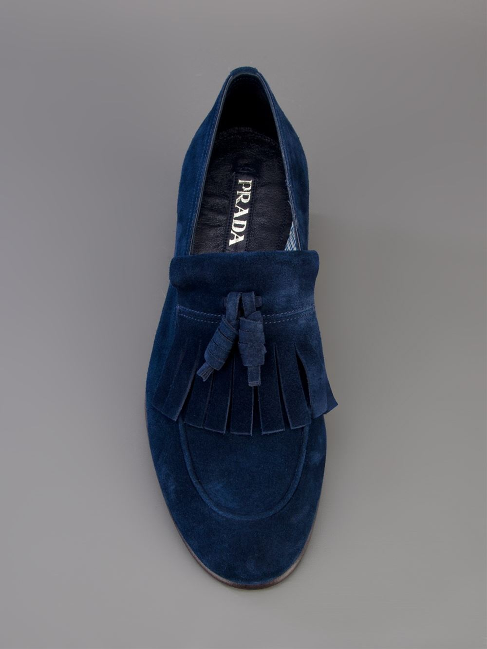 Prada Suede Tassel Loafers Buy Cheap Hot Sale 2018 New Cheap Online Cheap Sale Comfortable Sale Amazon Cheap 100% Guaranteed BusqhUQNr