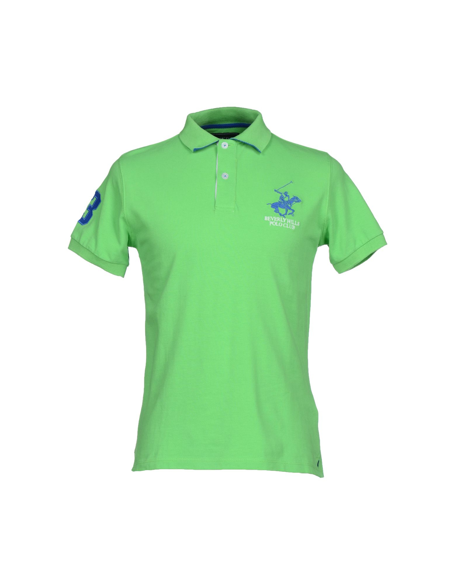 Beverly Hills Polo Club Polo Shirt In Green For Men Light