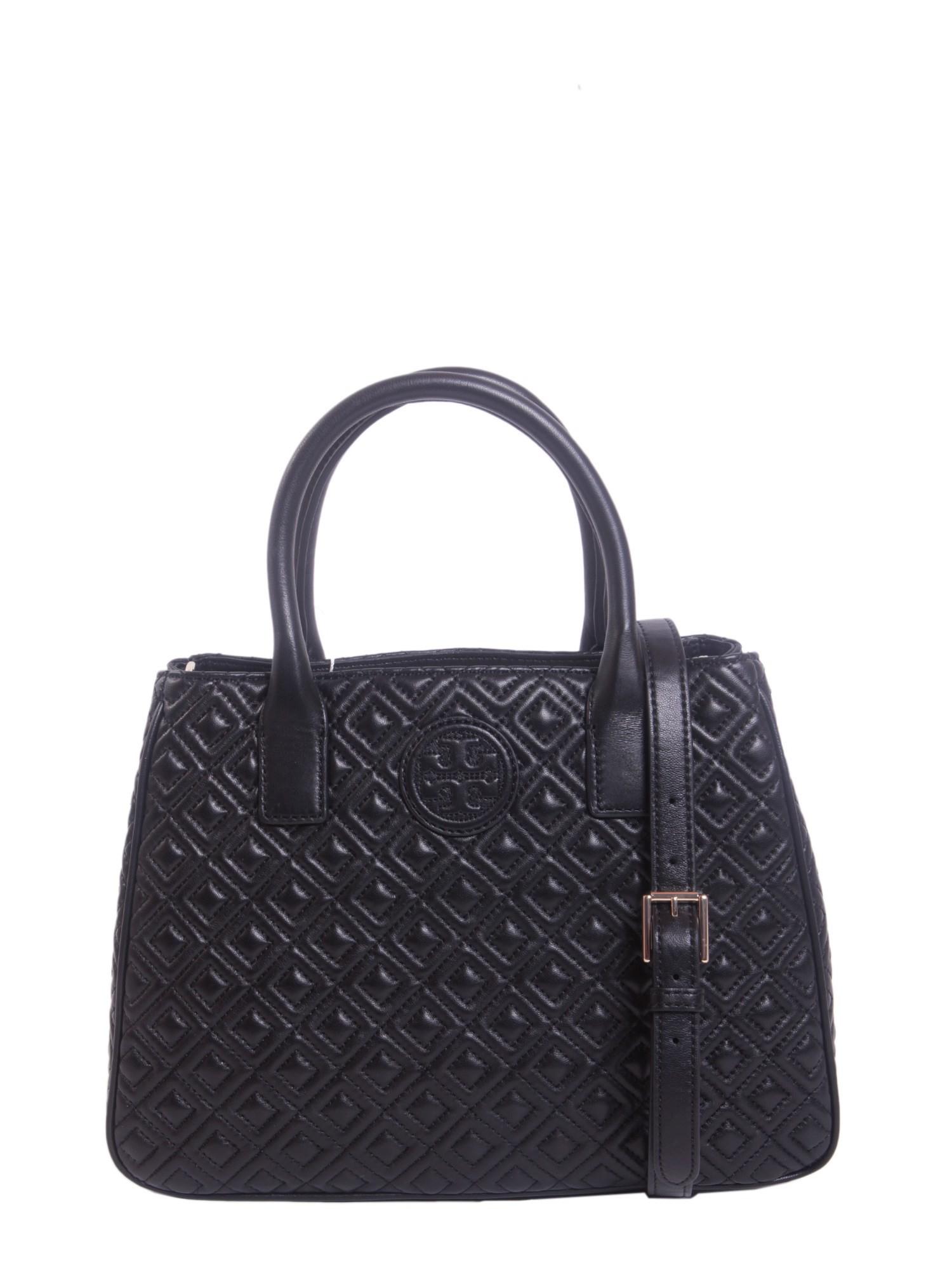 Tory Burch Marion Bag In Black Nero Lyst