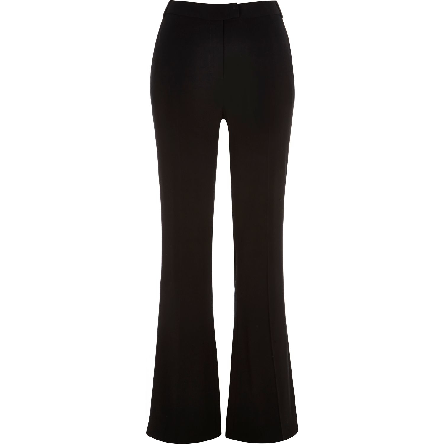 River Island Black Satin Trousers