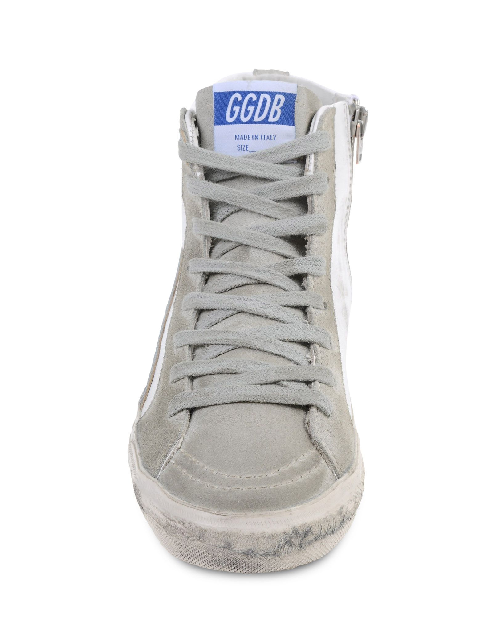golden goose deluxe brand high top sneakers in white lyst. Black Bedroom Furniture Sets. Home Design Ideas