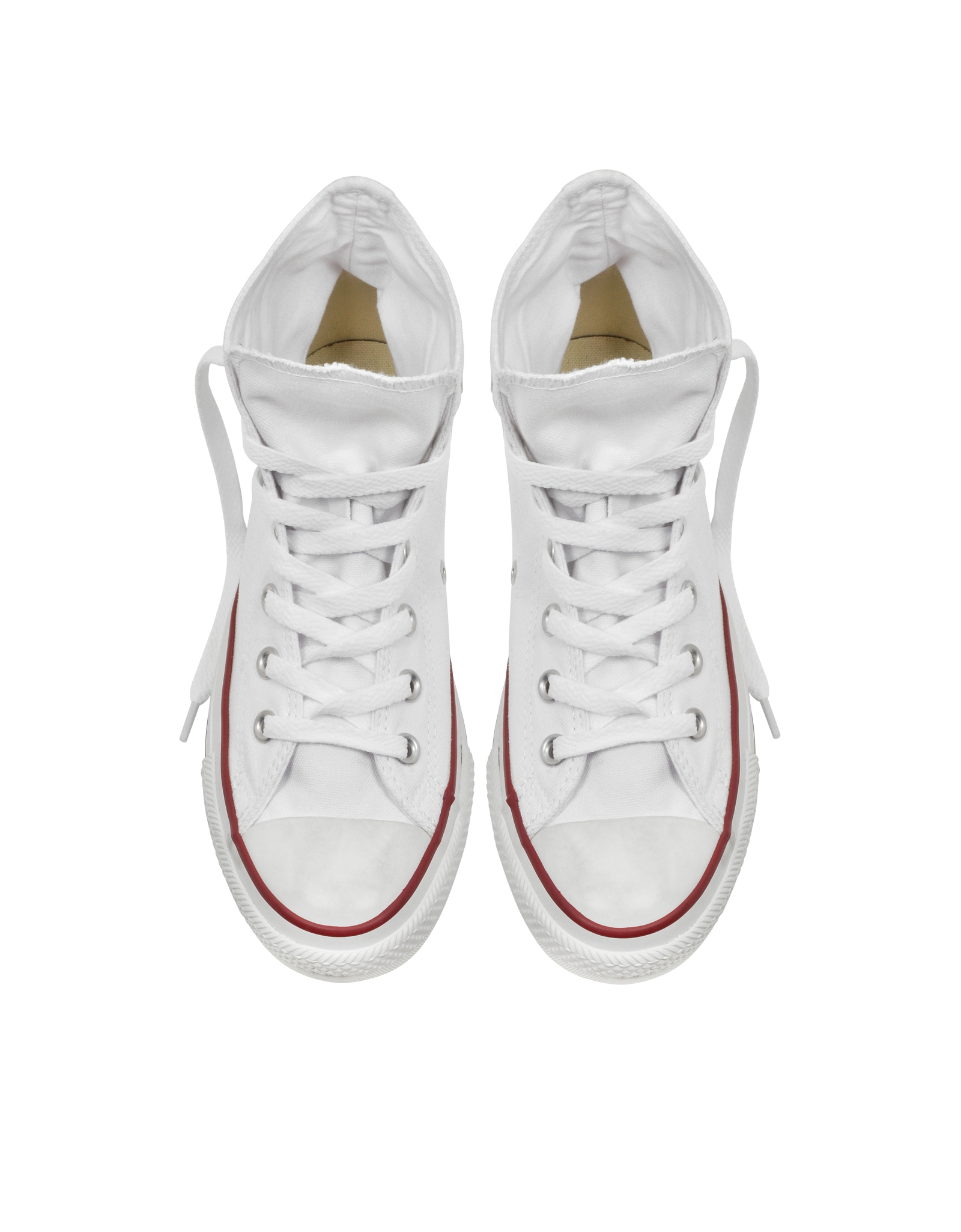 converse all optic white canvas high top sneaker in
