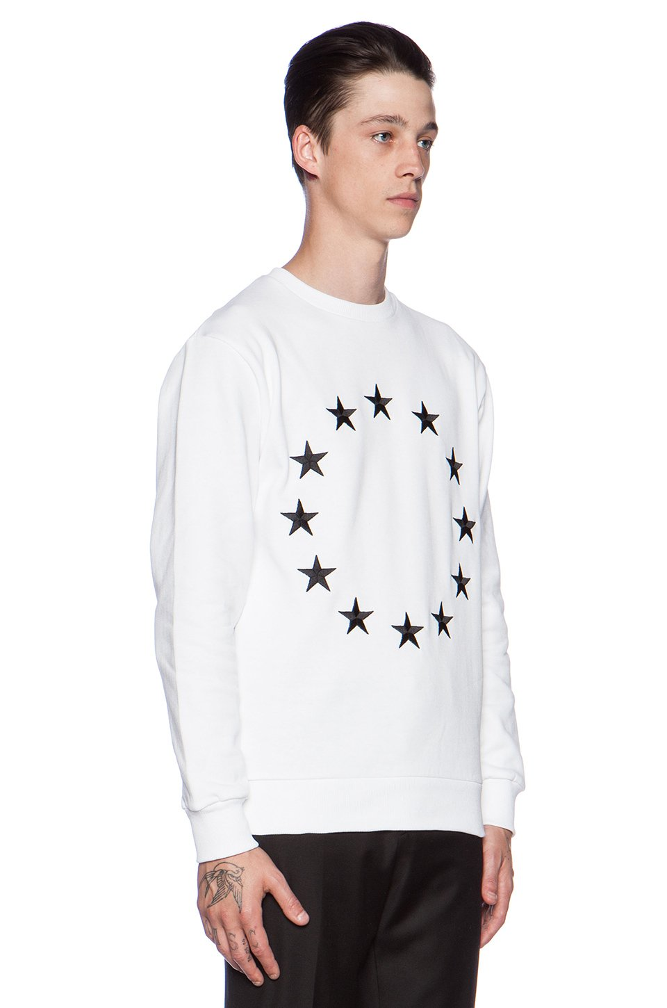 Clearance Affordable Good Selling Cheap Price White Etoile Europa Sweatshirt Outlet Visa Payment Free Shipping Brand New Unisex Cheap Price Discount Authentic GXAiNO
