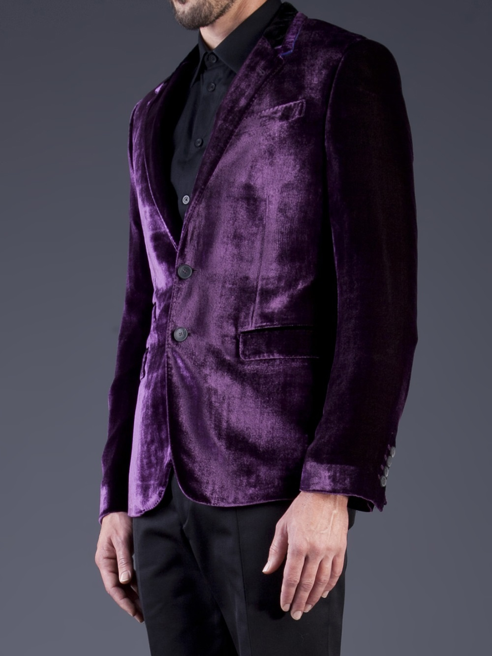 Lyst Paul Smith Gents Tailored Fit Velvet Blazer In