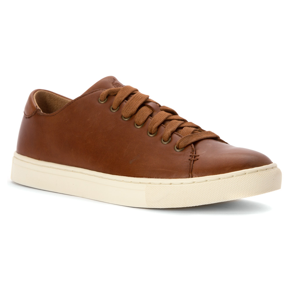 polo ralph lauren jermain sneaker in brown for men lyst. Black Bedroom Furniture Sets. Home Design Ideas