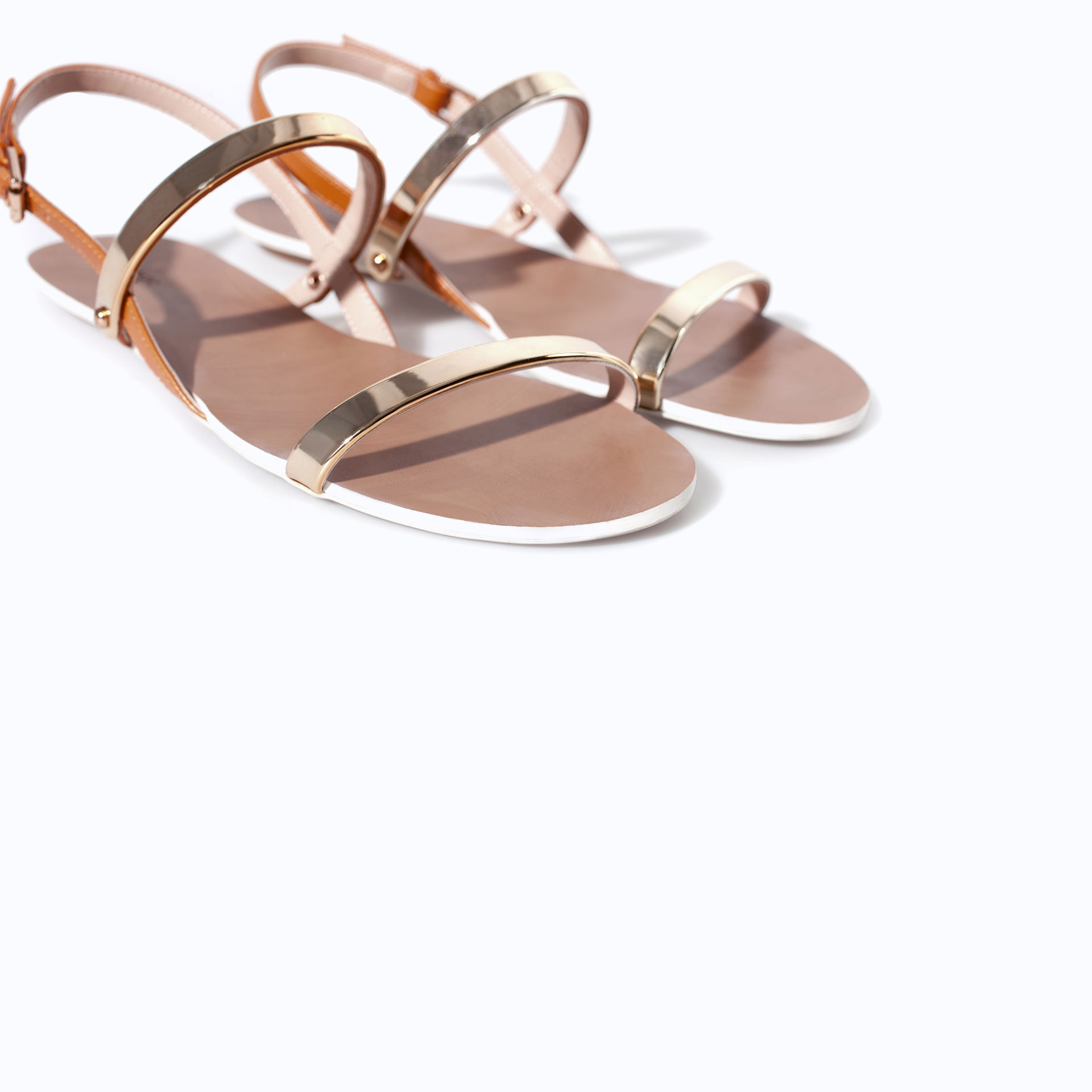 e900ec644 Gold Sandals Zara ~ Gold Sandals
