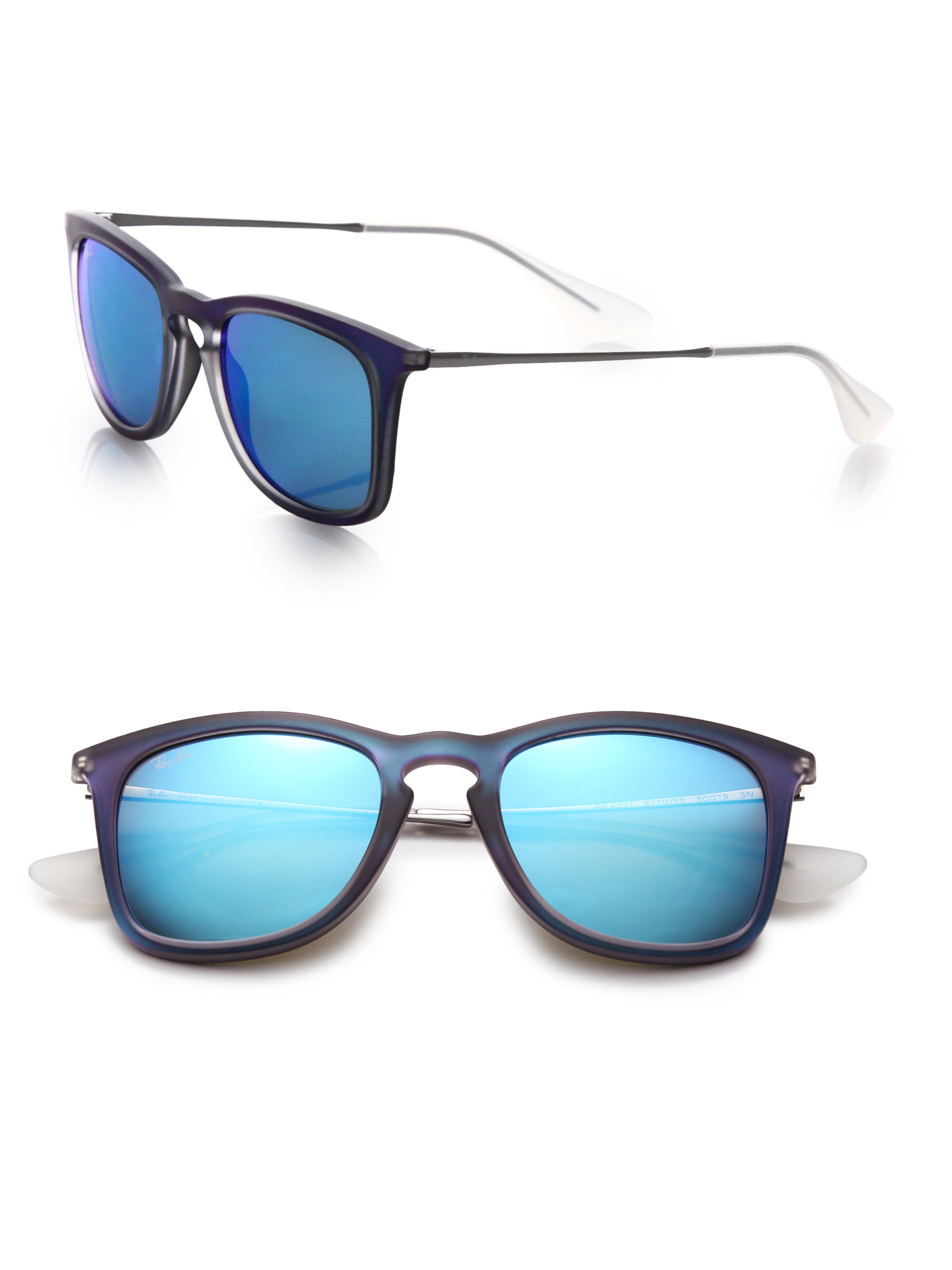 Women 39 s mirrored ray bans for Mirror sunglasses