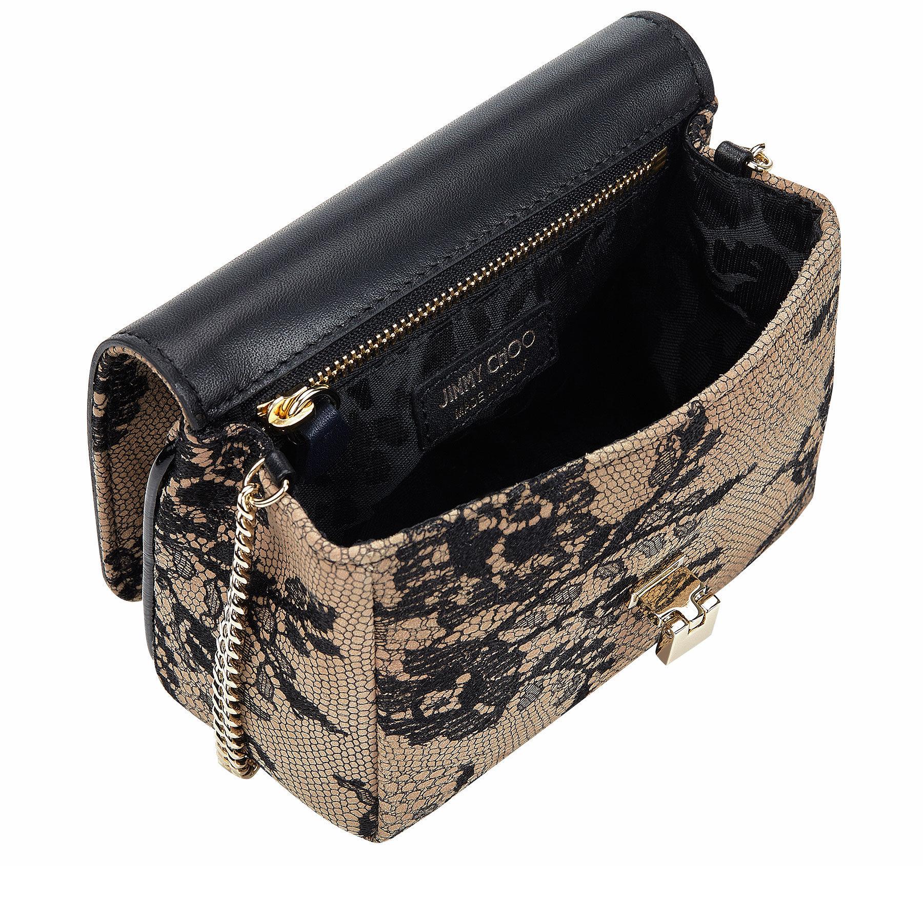 8b99e2447a3c Jimmy choo Ruby Black Lace On Leather