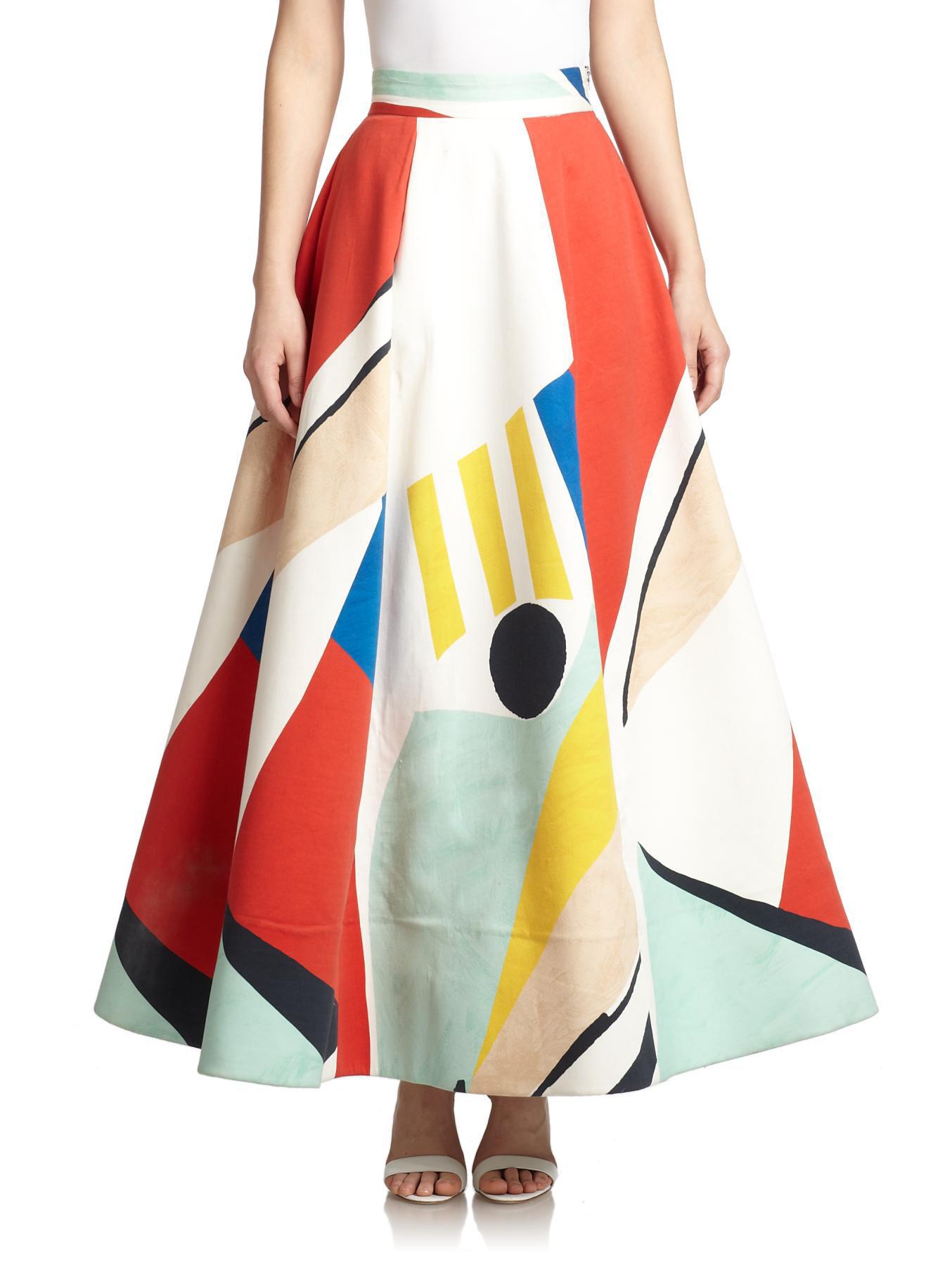 2db5f541030ed4 Cotton Maxi Skirt Shopstyle – DACC
