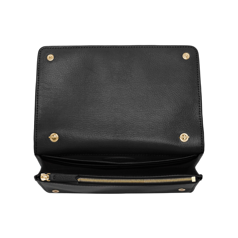 7943666070 Lyst - Mulberry Bow Clutch Wallet in Black