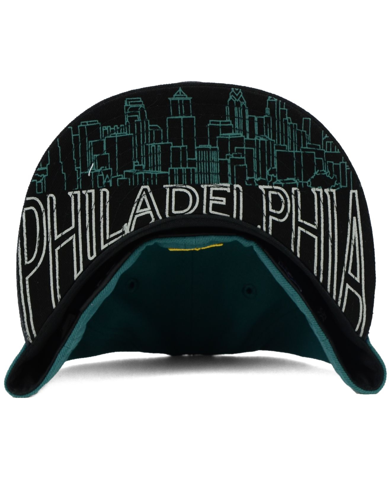 201bcb9a KTZ Kids' Philadelphia Eagles 2015 Nfl Draft 59fifty Cap in Green - Lyst