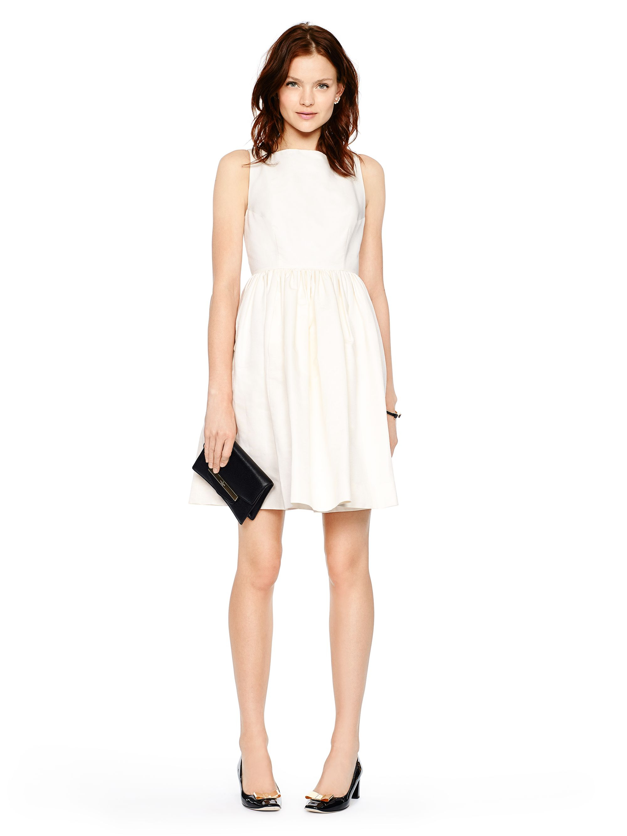 Lyst Kate Spade New York Tanner Dress In White