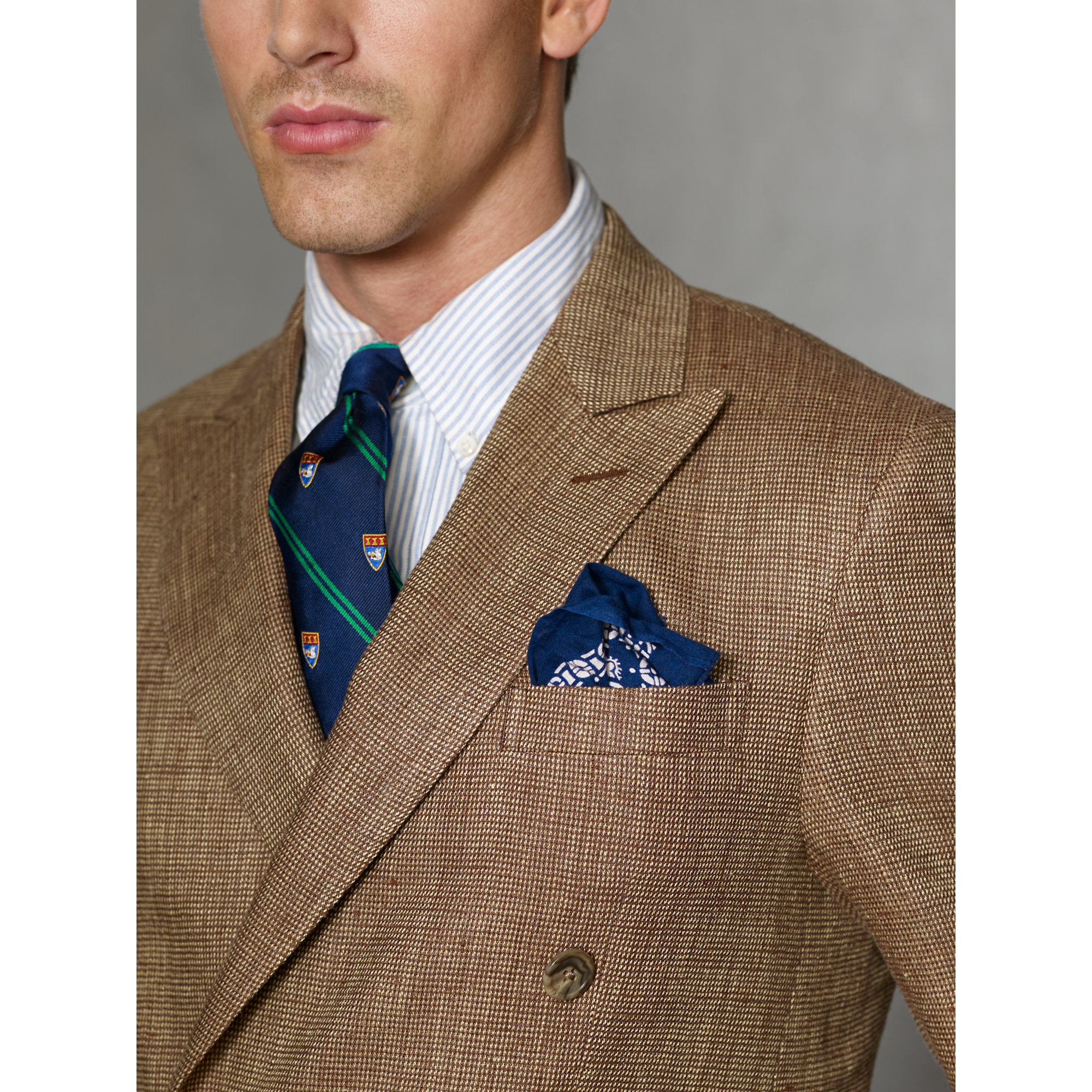 Lyst Polo Ralph Lauren Double Breasted Sport Coat In