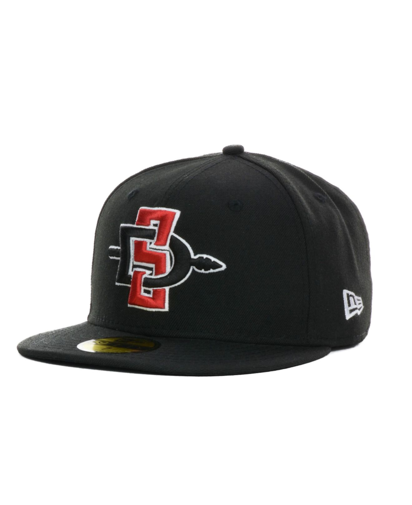 competitive price 281d0 e001d KTZ San Diego State Aztecs Ncaa Ac 59Fifty Cap in Black for Men - Lyst