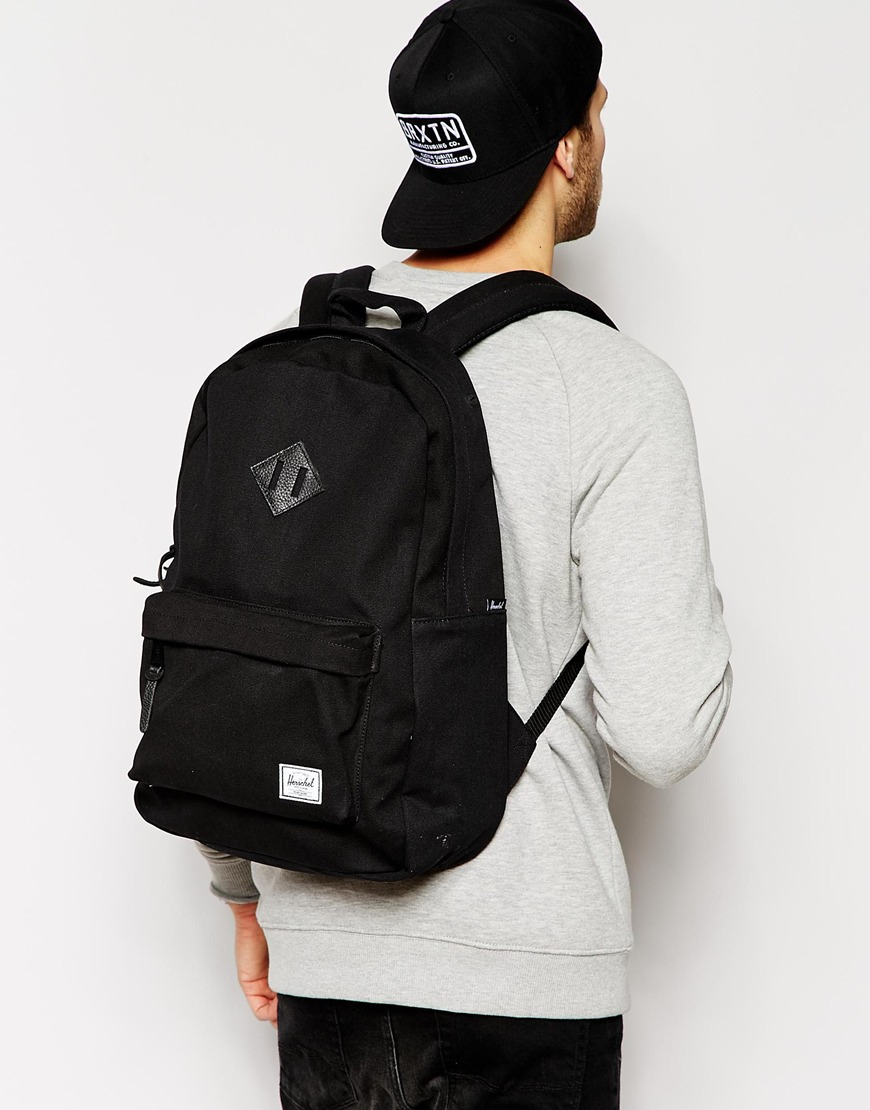 e7cd2bdab73 Lyst - Herschel Supply Co. Supply Co Heritage Canvas Backpack in ...