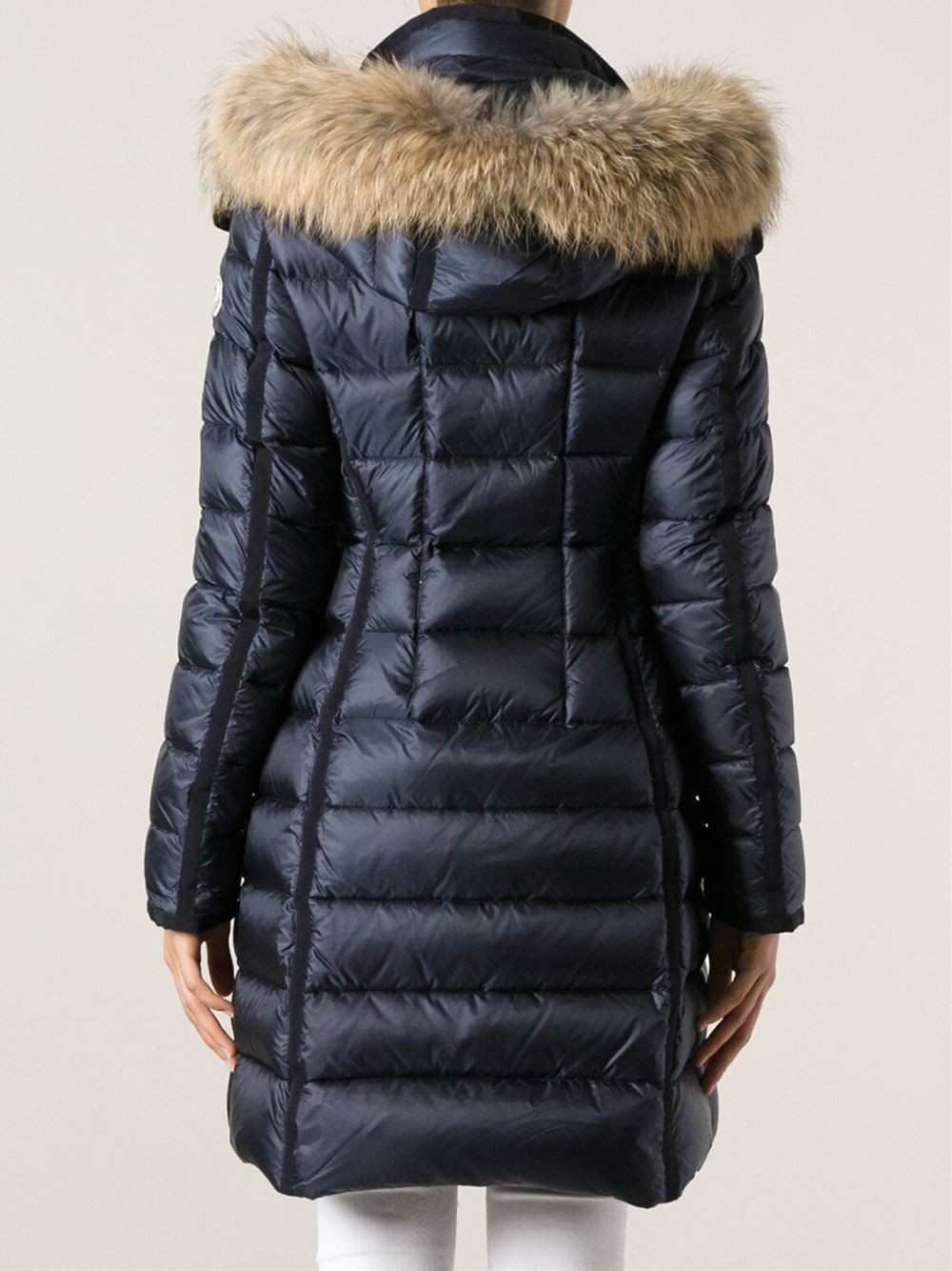 Lyst Moncler Hermifur Giubbotto Jacket In Blue