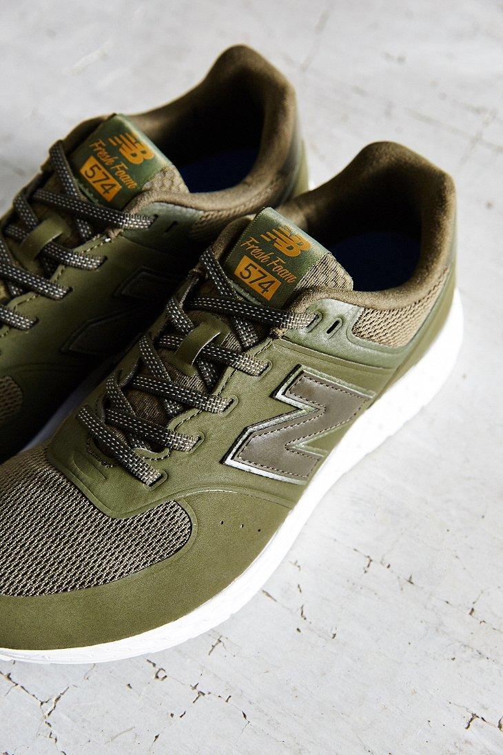 Lyst - New Balance 574 Fresh Foam Running Sneaker in Green