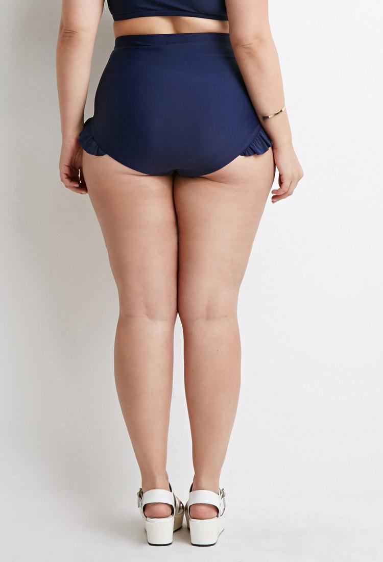 bottoms Ruffle bikini