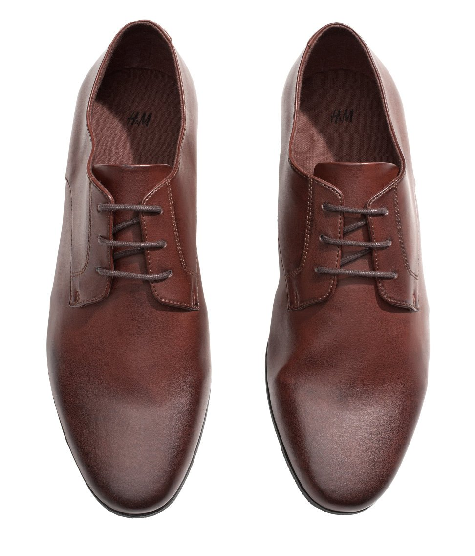 h m lace up shoes in brown for lyst