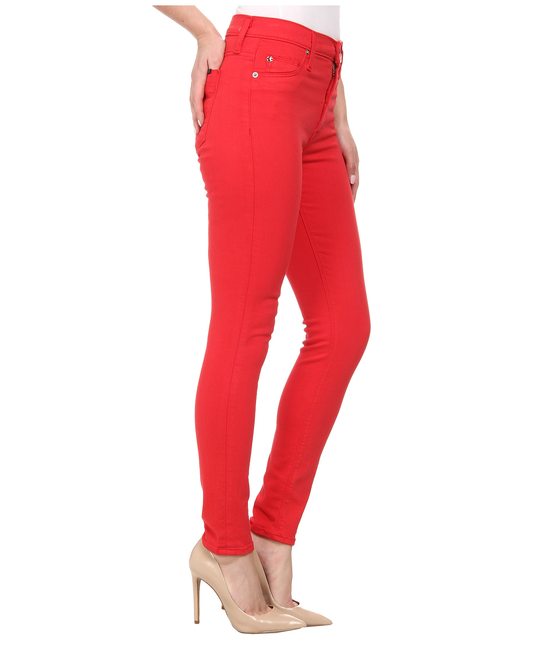 Hudson jeans Barbara High Waist Super Skinny Ankle Jeans In ...