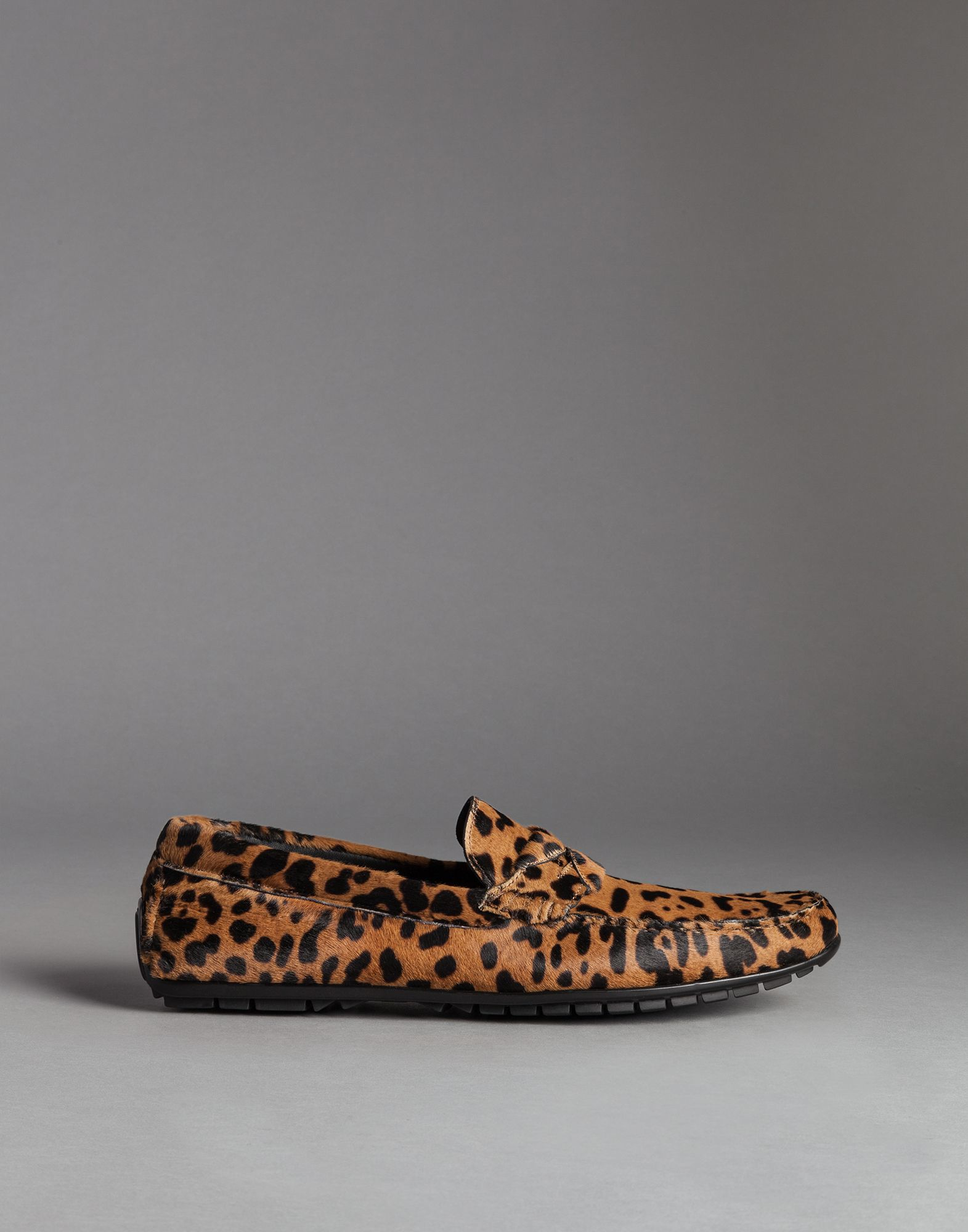 leopard print loafers - Brown Dolce & Gabbana AY50T