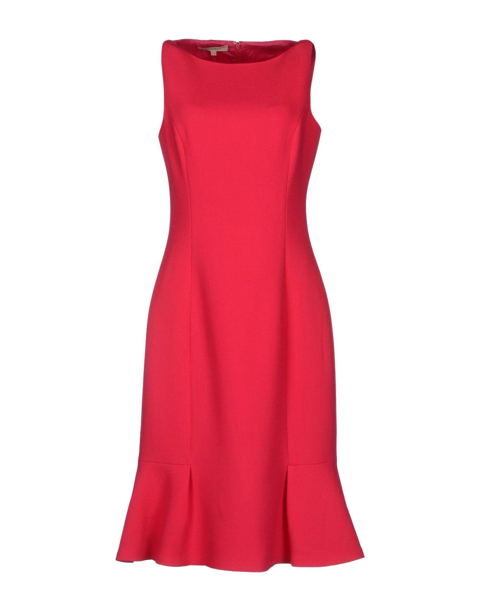 Michael Kors Knee-Length Dress in Pink (Garnet)