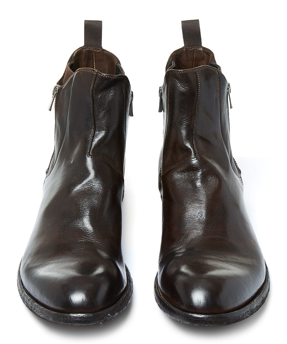 Leather Brown Shoes Polish