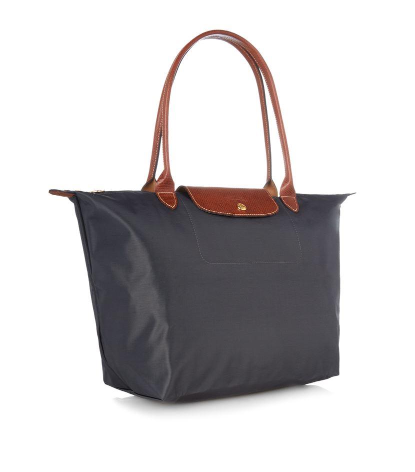 Longchamp Bag Le Pliage Australia : Longchamp le pliage large shoulder bag in yellow lyst