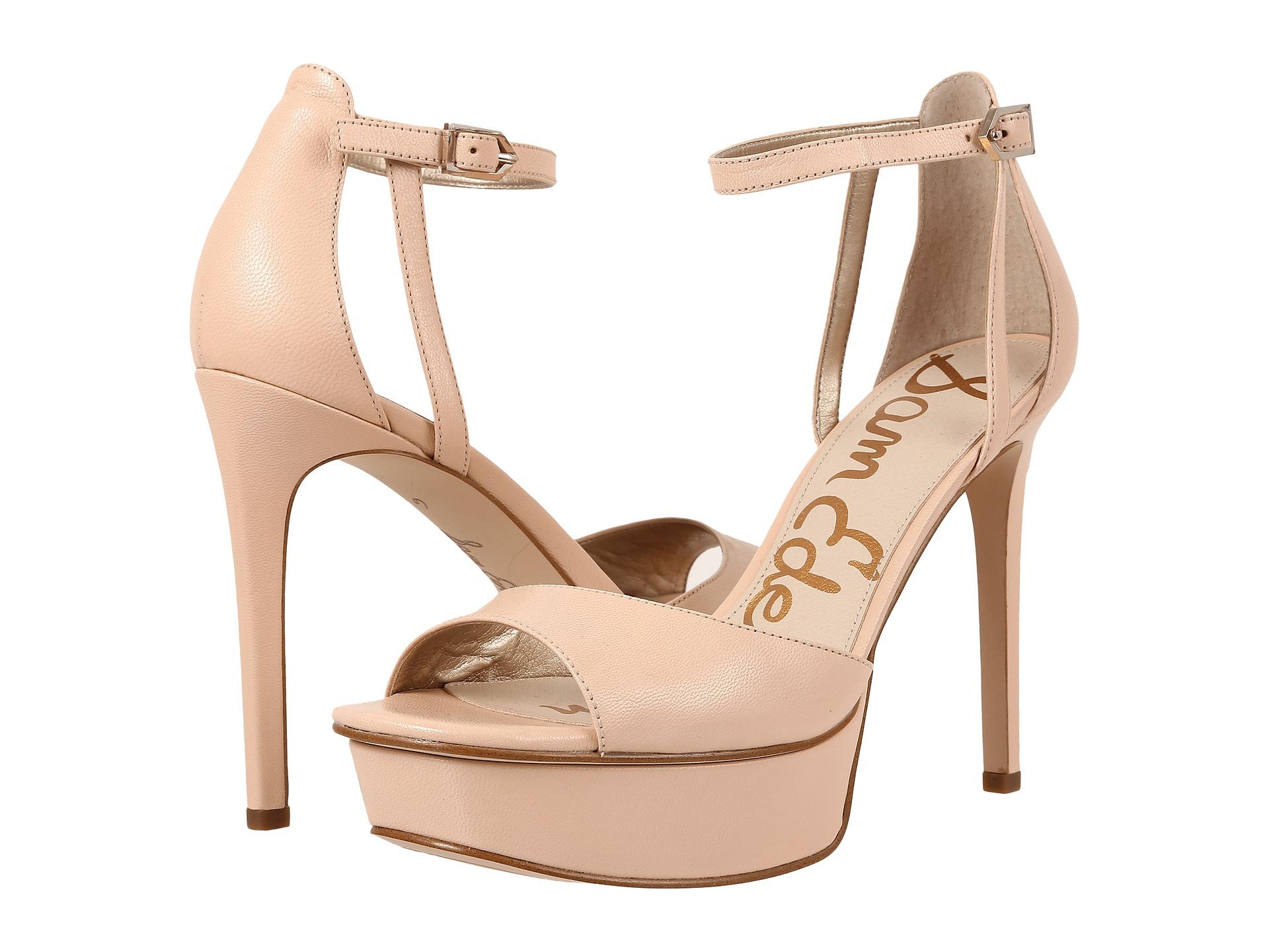 Womens Sandals Sam Edelman Kayde Soft Nude Talco Kid Leather