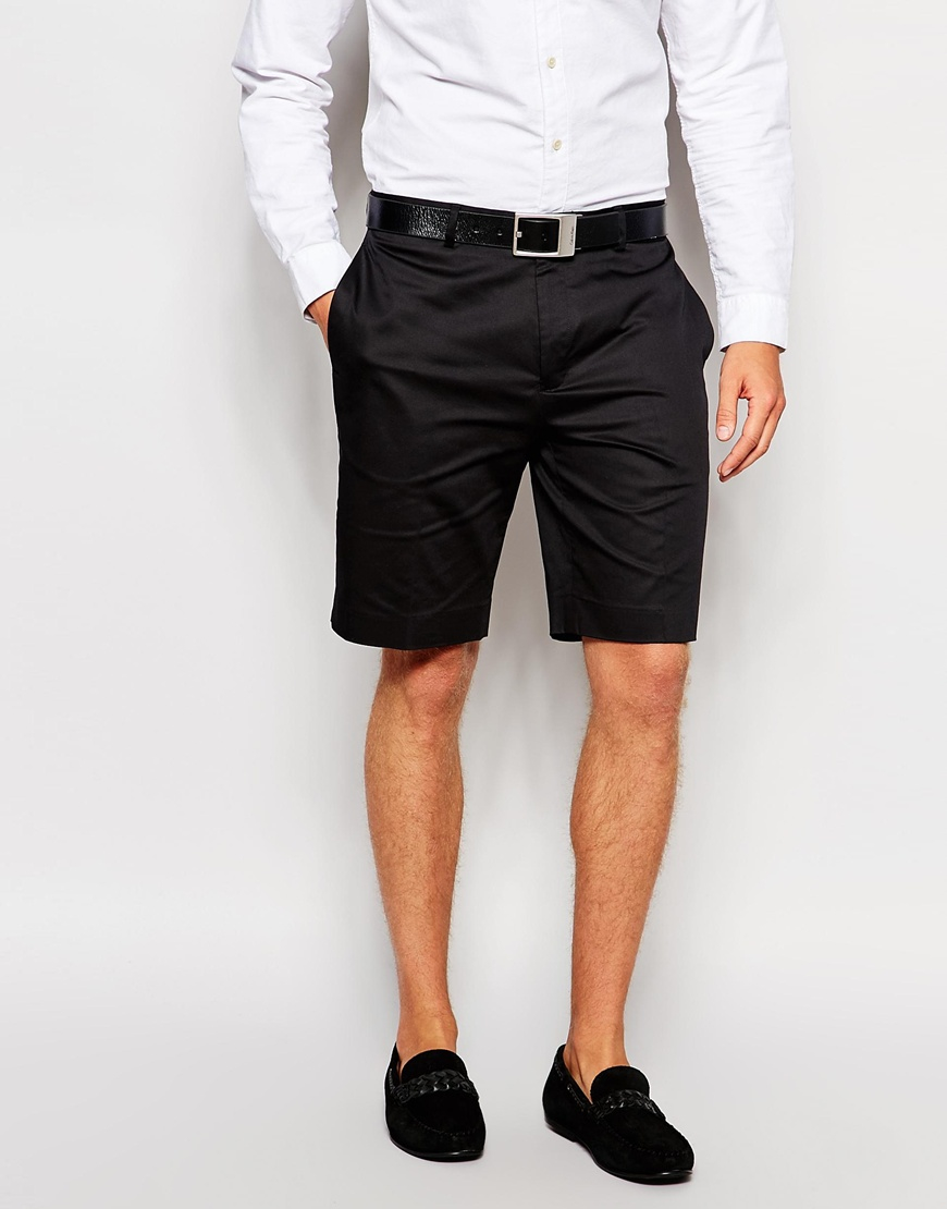 Discover mens tailored shorts at ASOS. Smarten up your summer look with tailored shorts and suit shorts and shop from plain to printed shorts.