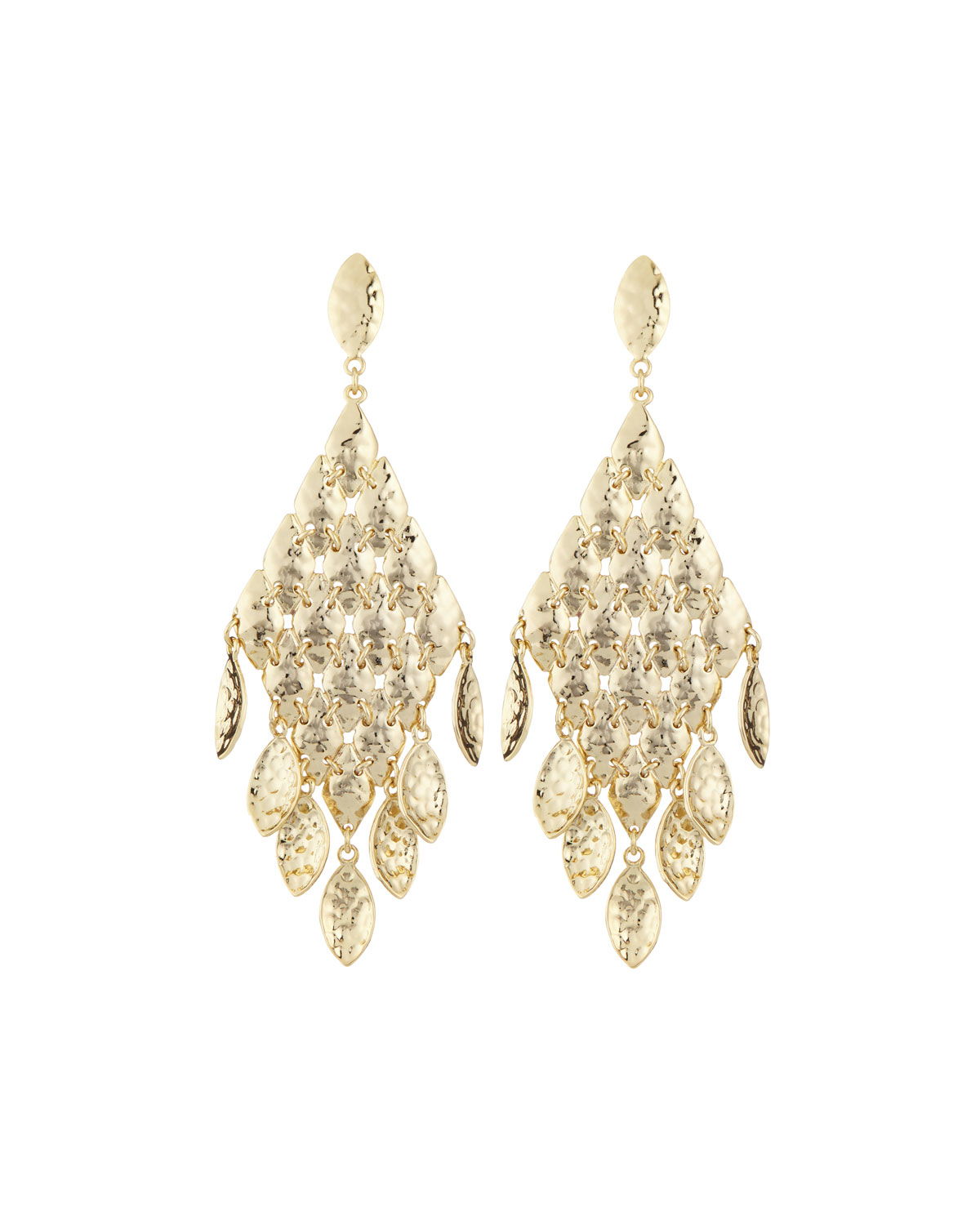Lyst kendra scott nera tiered chandelier earrings in metallic gallery arubaitofo Images