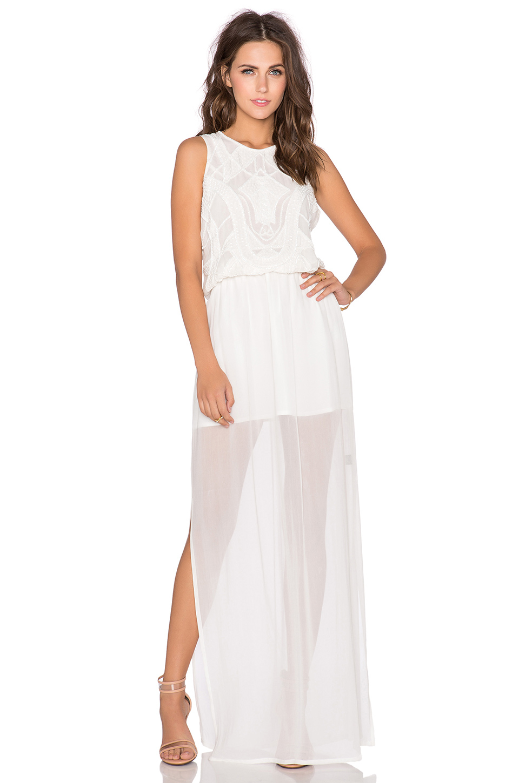 Watch - Beaded white dress video