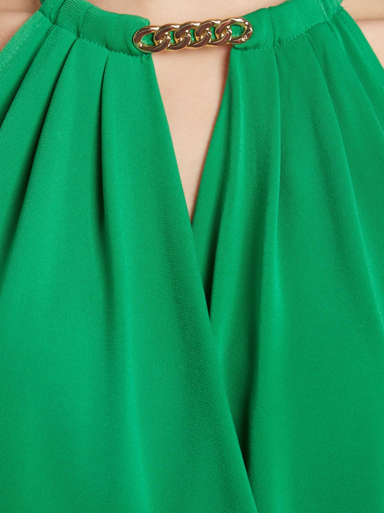 Michael kors halter maxi dress