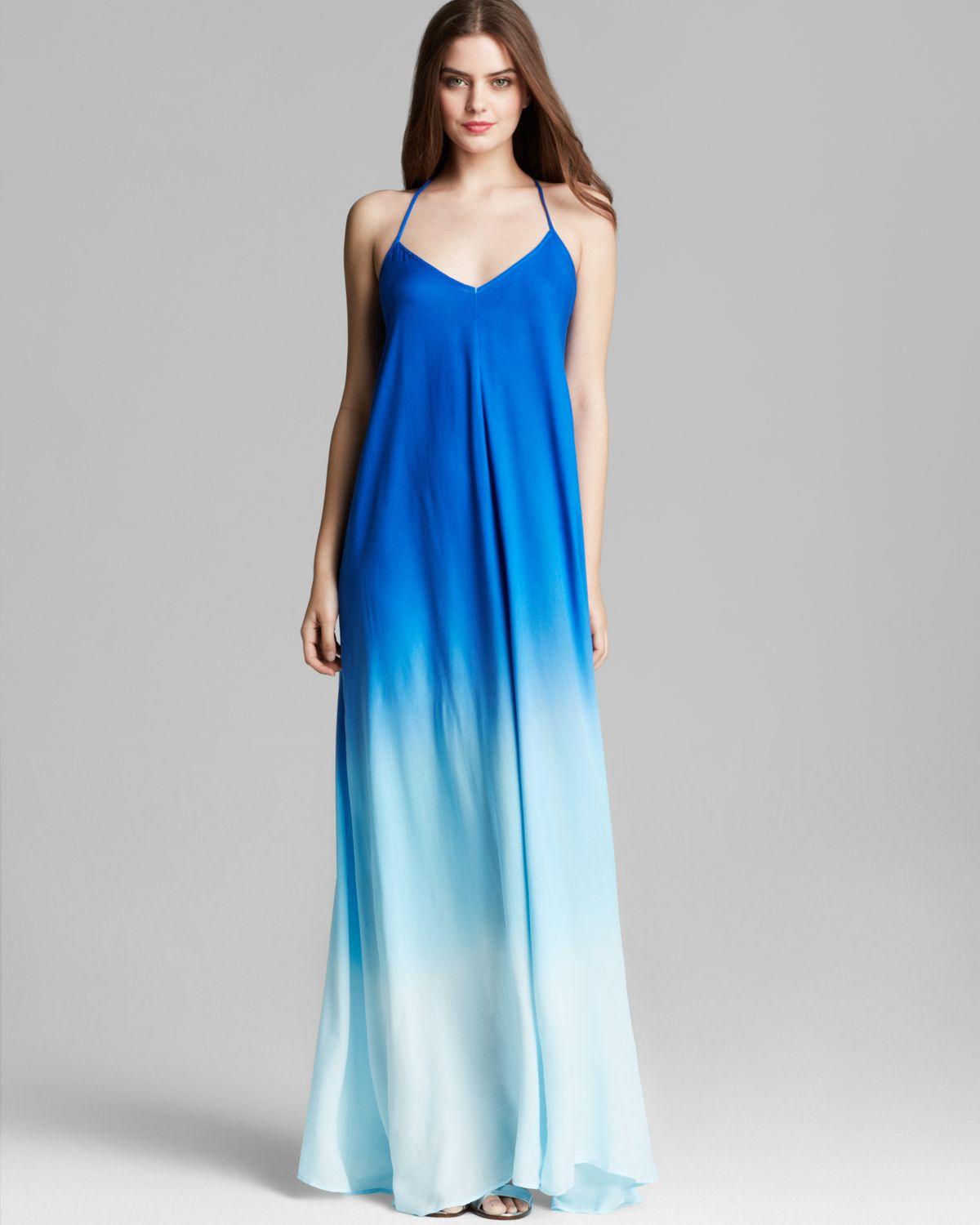 Lyst Young Fabulous Broke Maxi Dress Fortune Ombre In Blue