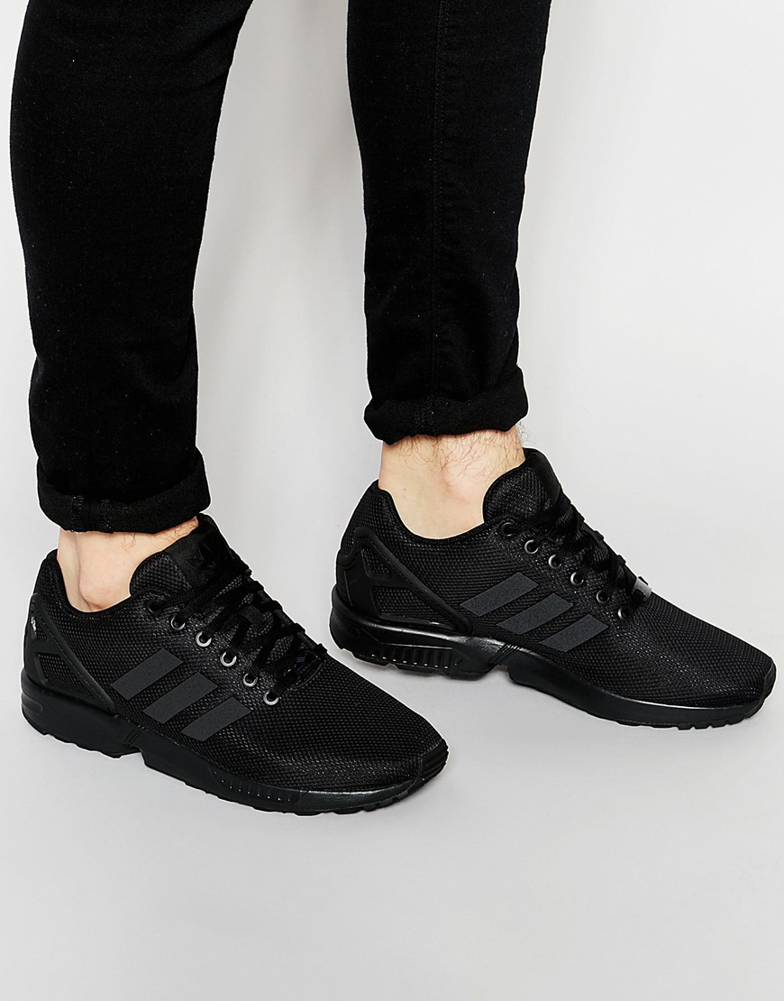 9604bb95585d Lyst - adidas Originals Zx Flux Trainers S79093 in Black for Men