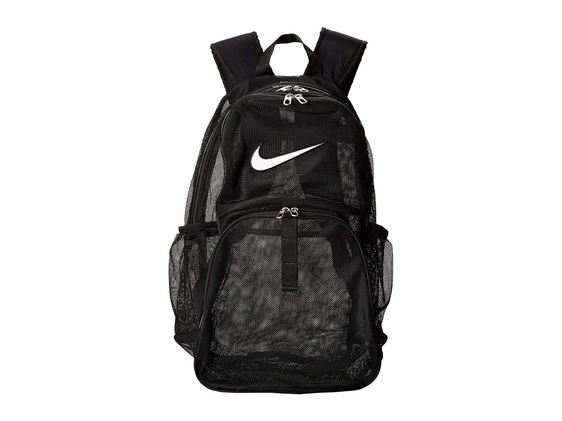 ... Backpack School Book  new product 5e475 ad252 Lyst - Nike Brasilia 6  Mesh Xl in Black ... 2fb4b8b308