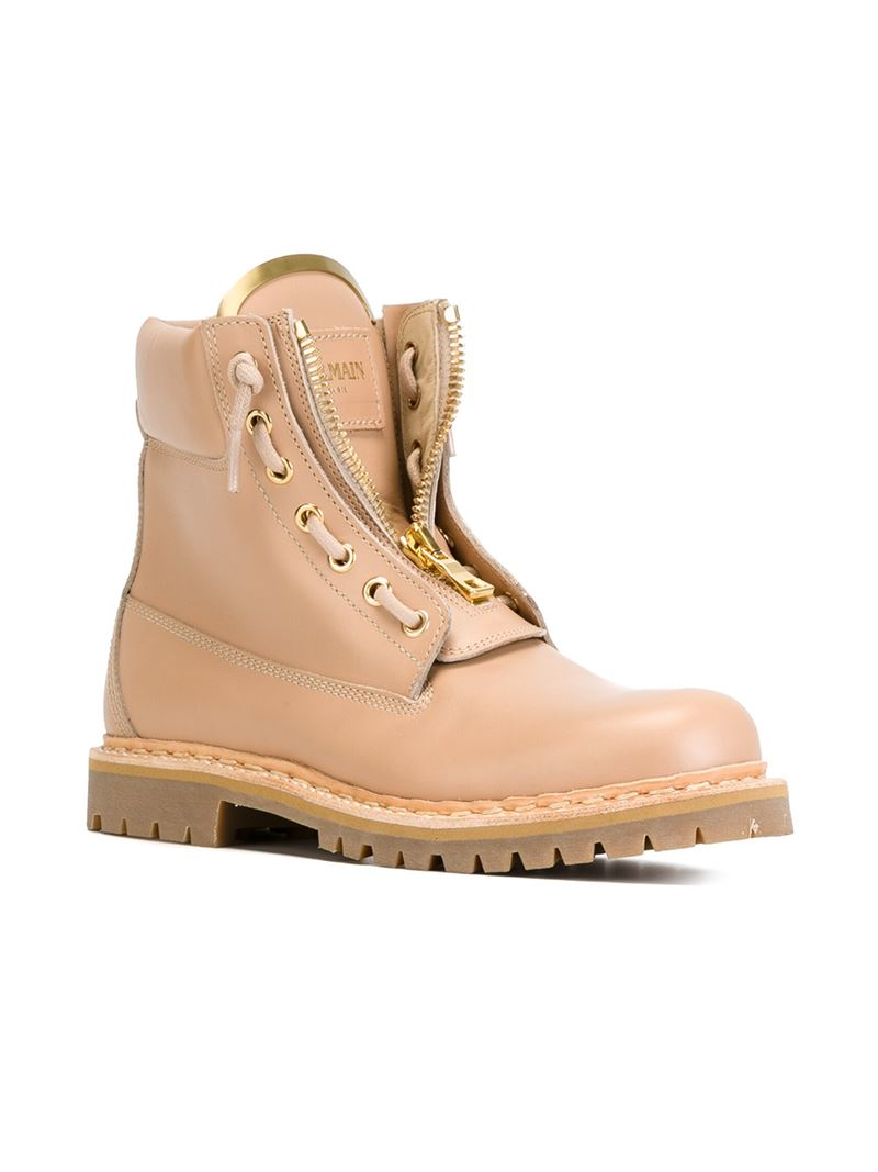 Nude Boot Heels