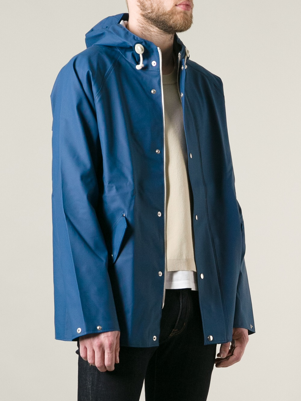 Lyst - Norse Projects Elka Jacket in Blue for Men e907a23e5127