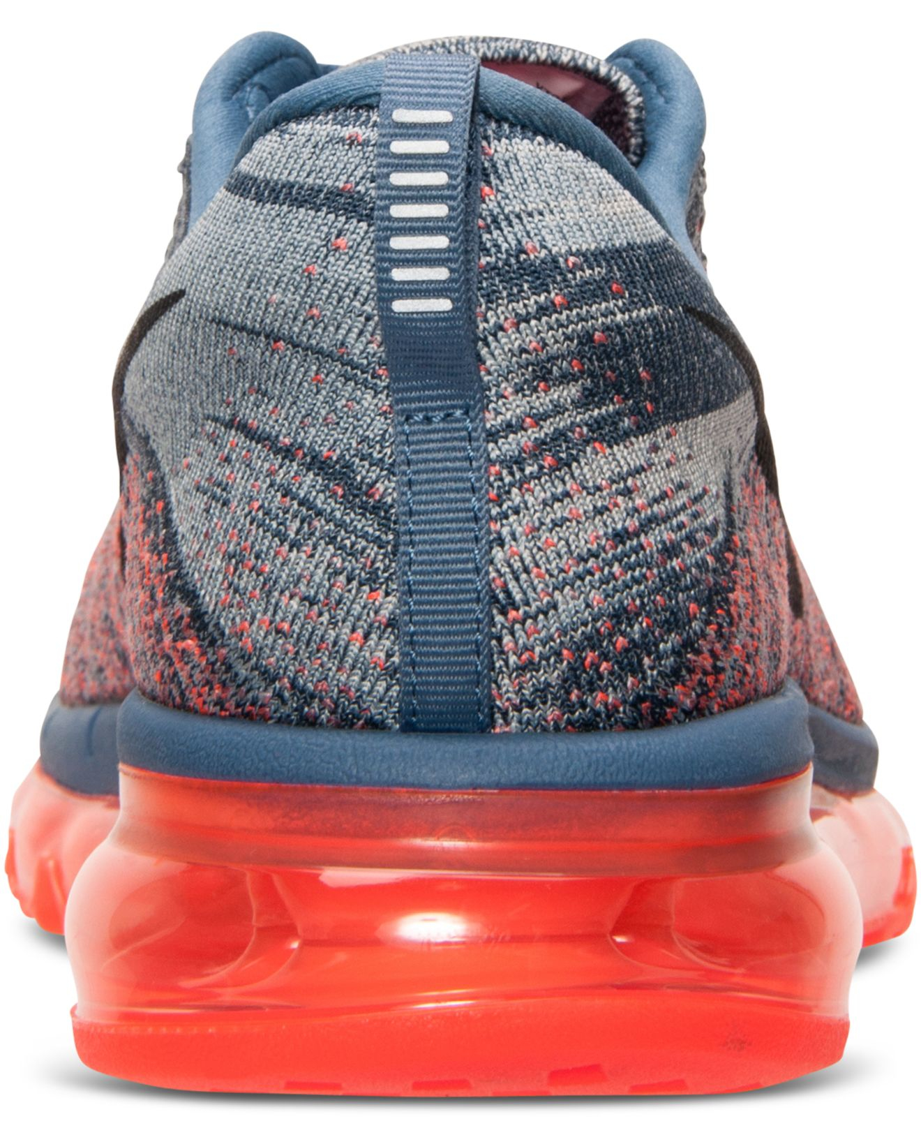 lower price with 0c2b4 7839f ... where to buy lyst nike mens flyknit air max running sneakers from  finish line in blue
