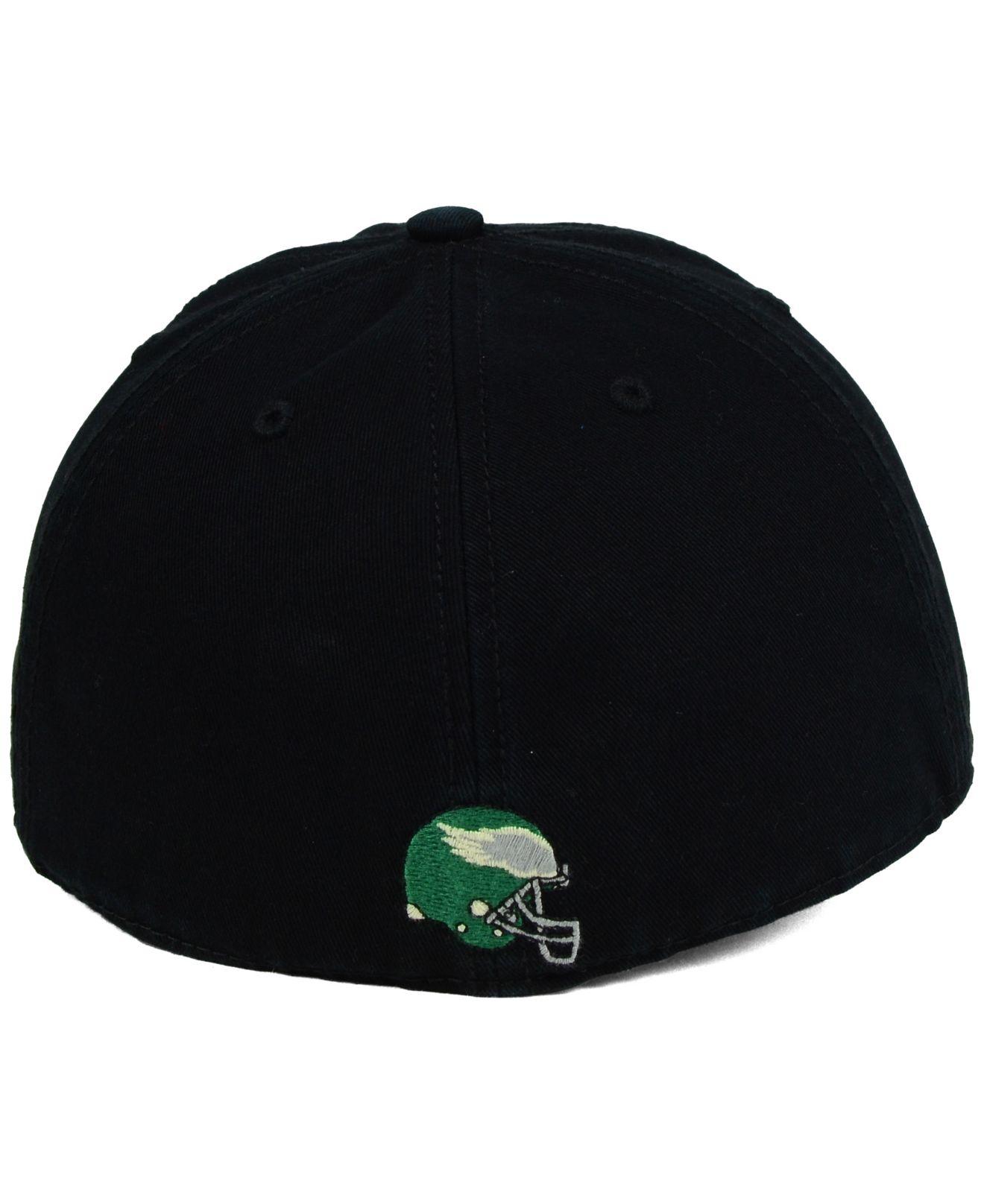 85d142cf9f3 ... real lyst 47 brand philadelphia eagles papa franchise cap in black for  men 6392e 88cac official philadelphia eagles adjustable ...