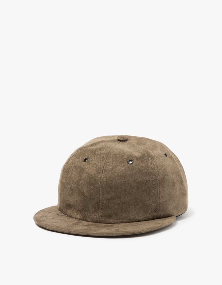 fc992e186c1 Lyst - Norse Projects Fake Suede 6 Panel Cap in Black for Men