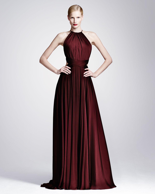 Lyst - Jason Wu Silk-Chiffon Parachute Gown in Red
