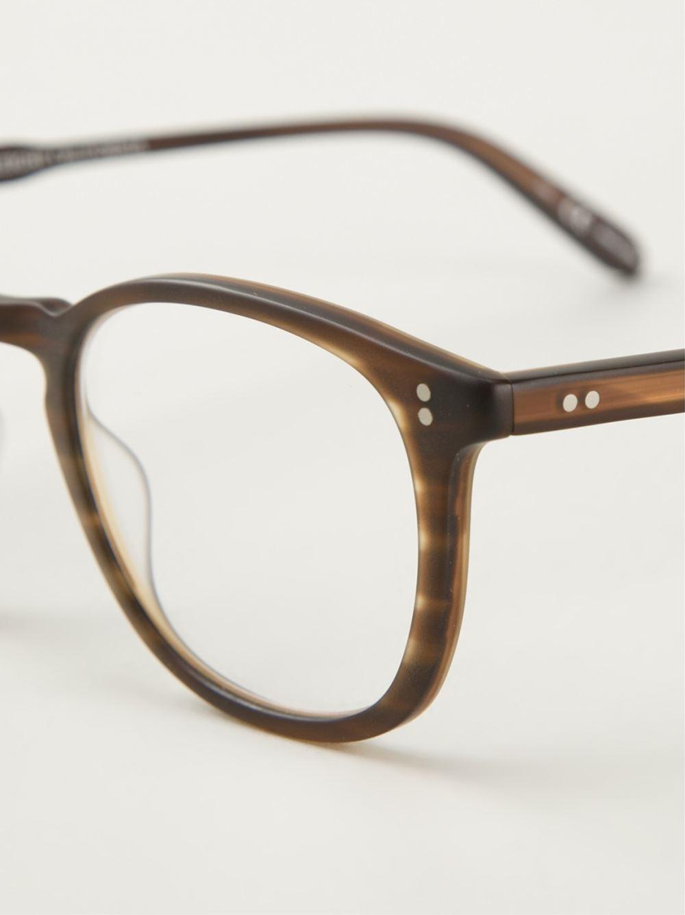 44bd33fe5e Lyst - Garrett Leight  kinney  Optical Glasses in Brown for Men