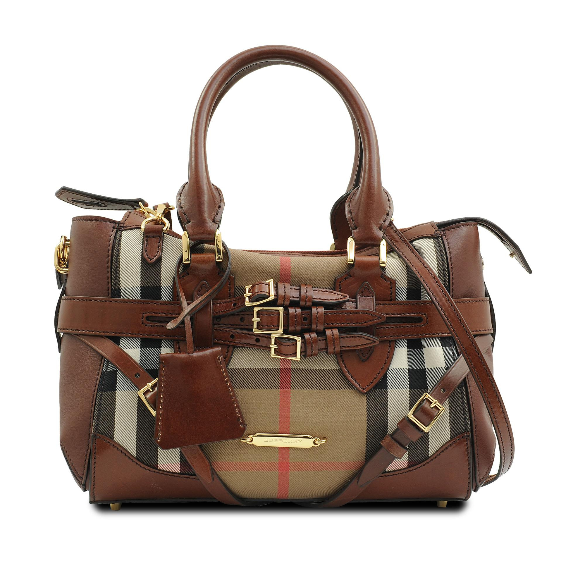 f6e641527381 Keeping Burberry Small Bags   Burberry small gladstone bag in brown lyst