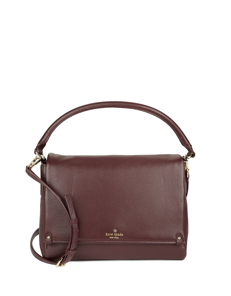 25b4a99fc210 Kate spade new york Summit Court Shoulder Bag in Purple