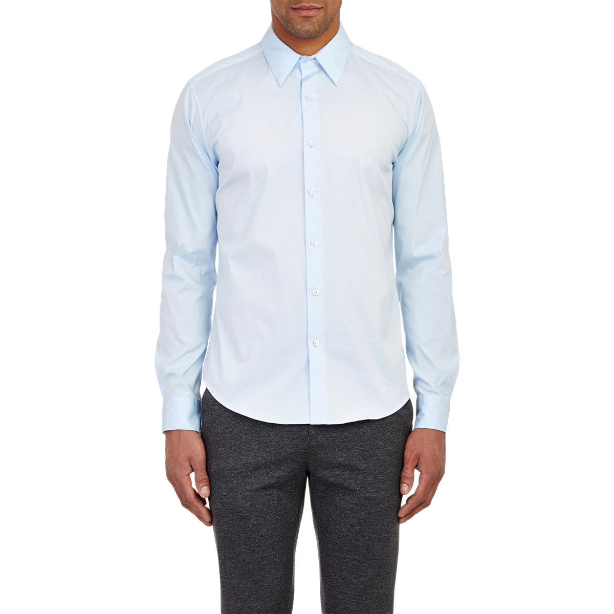 Theory Sylvain Shirt In Blue For Men Lyst