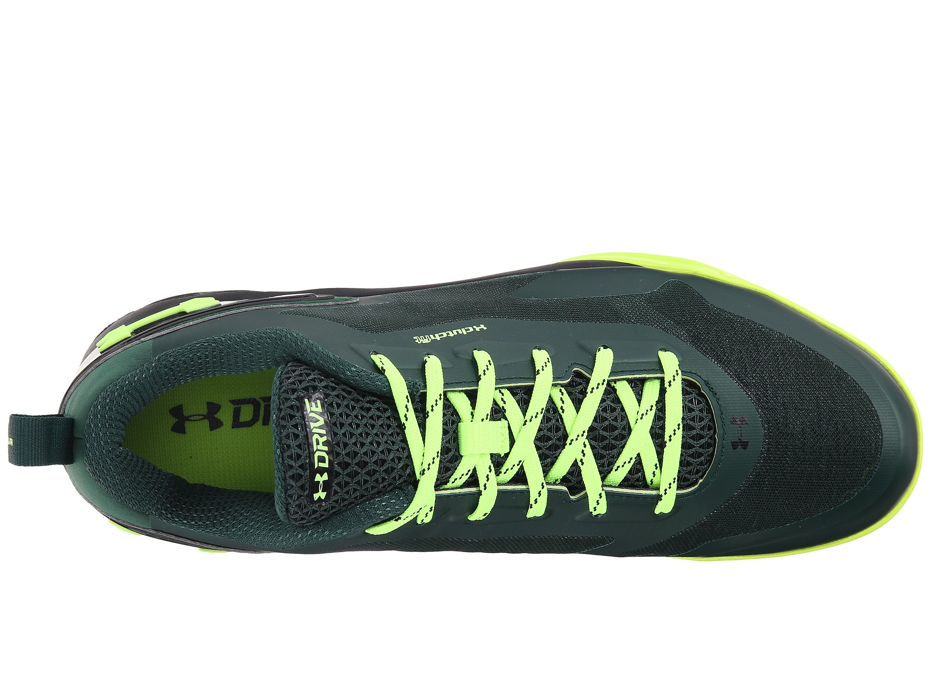 7dfc4307955 ... buy lyst under armour ua clutchfit drive 2 low in green for men f8542  c96af ...