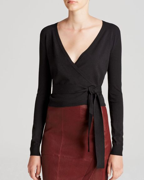 NEW Rebecca Taylor Ballet Wrap Cardigan in Black - Size M. $ Buy It Now. 2 watching; Length from shoulder: 19