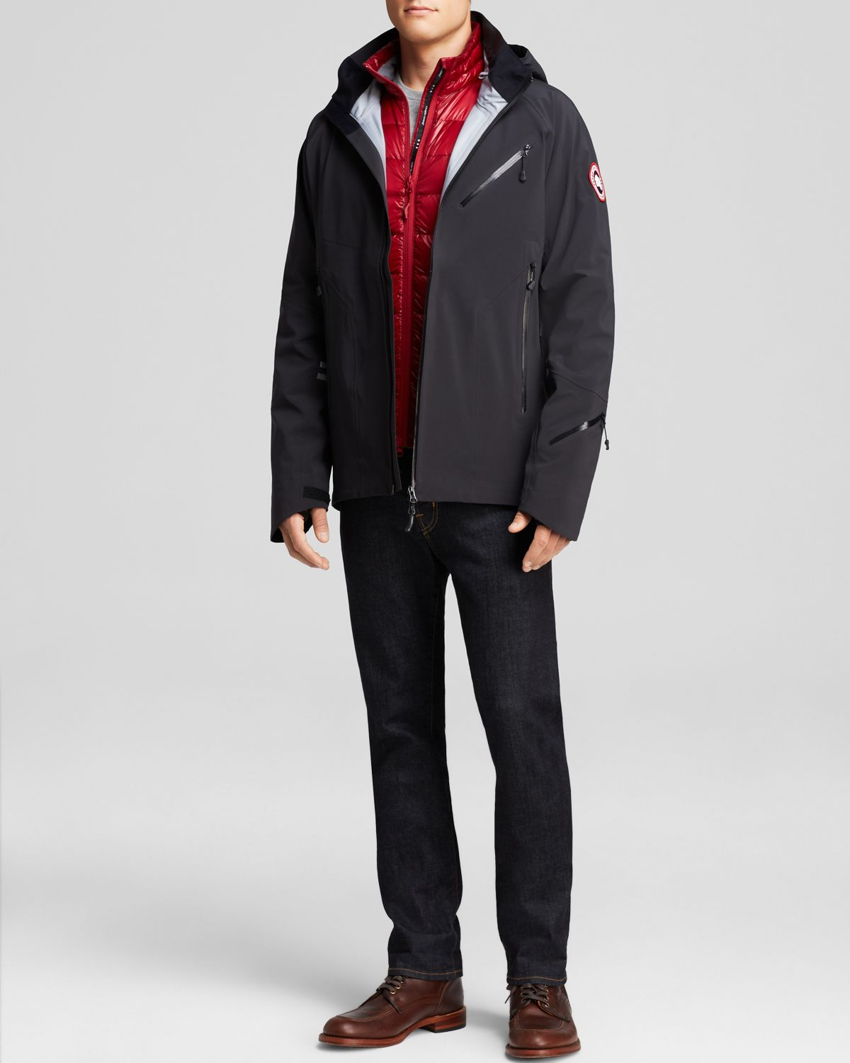 Canada Goose expedition parka sale cheap - Canada goose Timber Shell in Black for Men | Lyst
